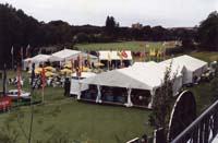 Field day marquees